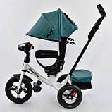 Велосипед трехколесный 7700 В 6980 Best Trike, пульт света и звука, поворотное сиденье, фото 5