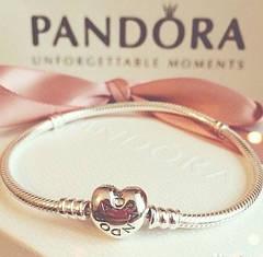 Шармы и браслеты Pandora