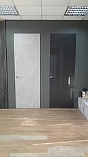 """Двери """"Скрытого монтажа"""" чёрный глянец, фото 3"""