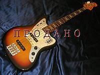 Бас-гитара Fender Deluxe Jaguar bass sunburst Japan