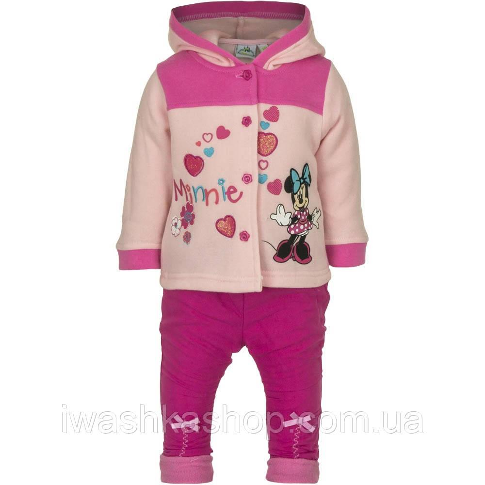 Теплий костюм з Мінні Маус, Minnie Mouse на дівчаток 6 місяців, р. 67, Disney baby