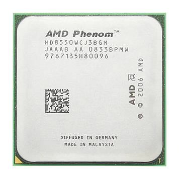 Процессор AMD Phenom X3 8550 2.20GHz/2M/1800 (HD8550WCJ3BGH) sAM2+, tray
