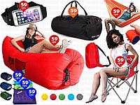 8пр. Ламзак Lamzac надувной лежак диван матрас шезлонг в наборе (кресло,сумка,гамак,бананка,полотенца)