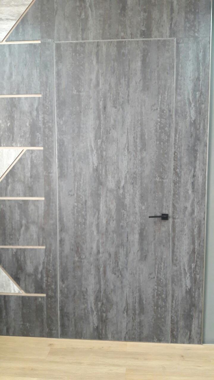 """Двери """"Скрытого монтажа"""" бетон"""