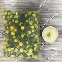 Шары для Пейнтбола 0.68 калибр ящик 2000 шт Пейнтбольные шары (Половинчастая оболочка+желтая краска)