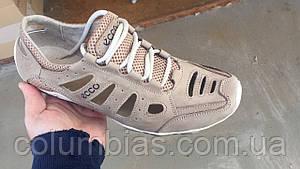 Распродажа летние кожаные кроссовки