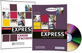 Французский язык / Objectif Express / Livre+Cahier d'activité. Учебник+Тетрадь (комплект), 1 / Hachette