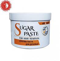 Сахарная паста для депиляции SILK & SOFT в домашних условиях мануальная 250г