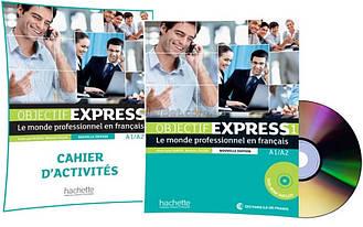 Французский язык / Objectif Express Nouvelle / Livre+Cahier d'activité. Учебник+Тетрадь (комплект), 1
