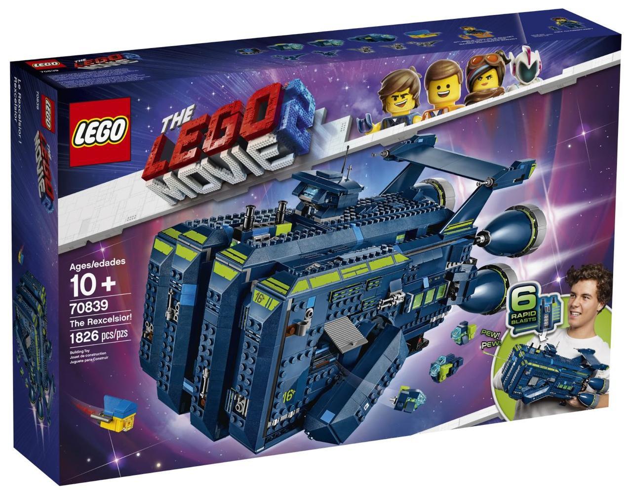 Lego Movie 2 Рэксельсиор! 70839