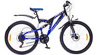 """Велосипед 26"""" Formula RODEO AM2 14G DD St сине-черный 2015"""