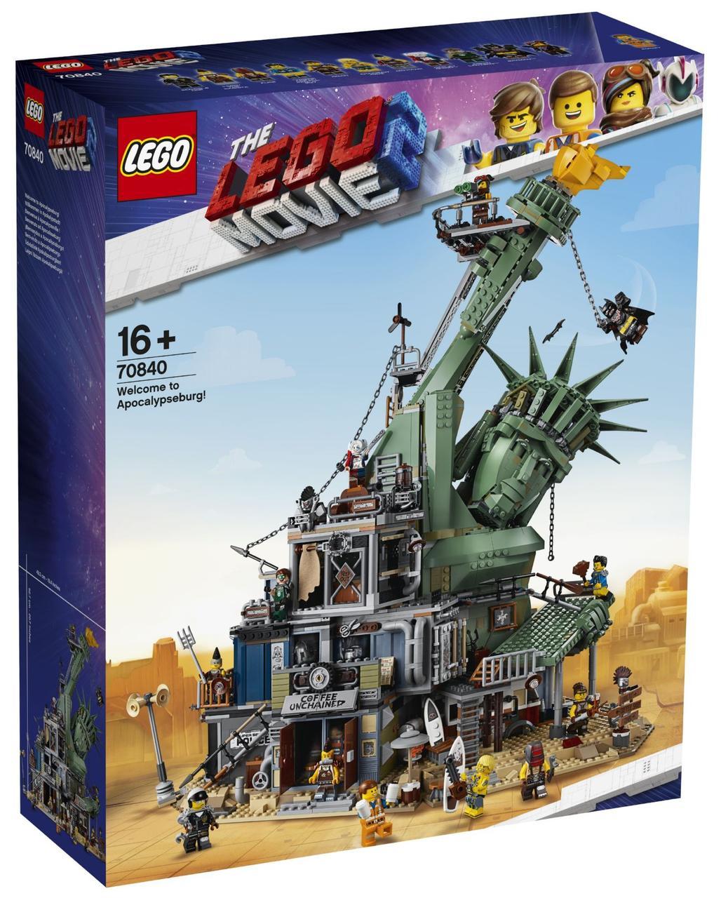 Lego Movie 2 Добро пожаловать в Апокалипс-град! 70840
