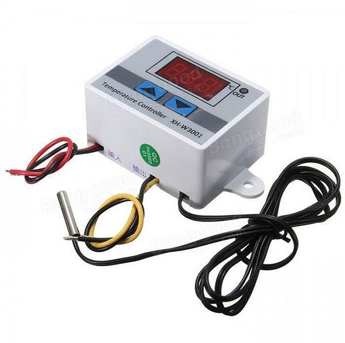 Цифровий Терморегулятор Xh-W3001, 220В, 1500w