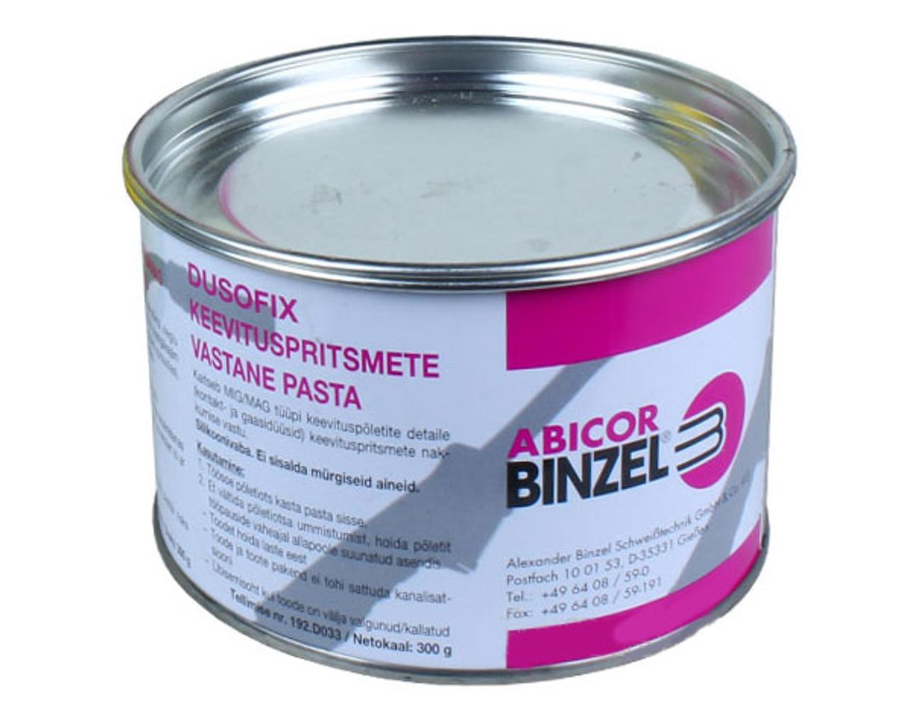 Паста антипригарная Binzel Abikor Германия 300 г для полуавтоматов