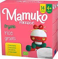 Рисова крупа подрібнена органічна MAMUKO для каші дітям з 4 місяців, 240 г Мамуко