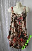 Платье женское модное молодежное легкое летнее мини бренд H&M р.42-44