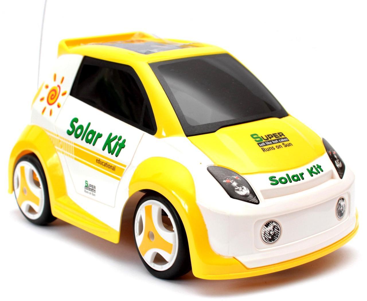 Автомобиль на солнечной батарее Solar Powered EcoMobile с пультом радиоуправления (CSL 2065)