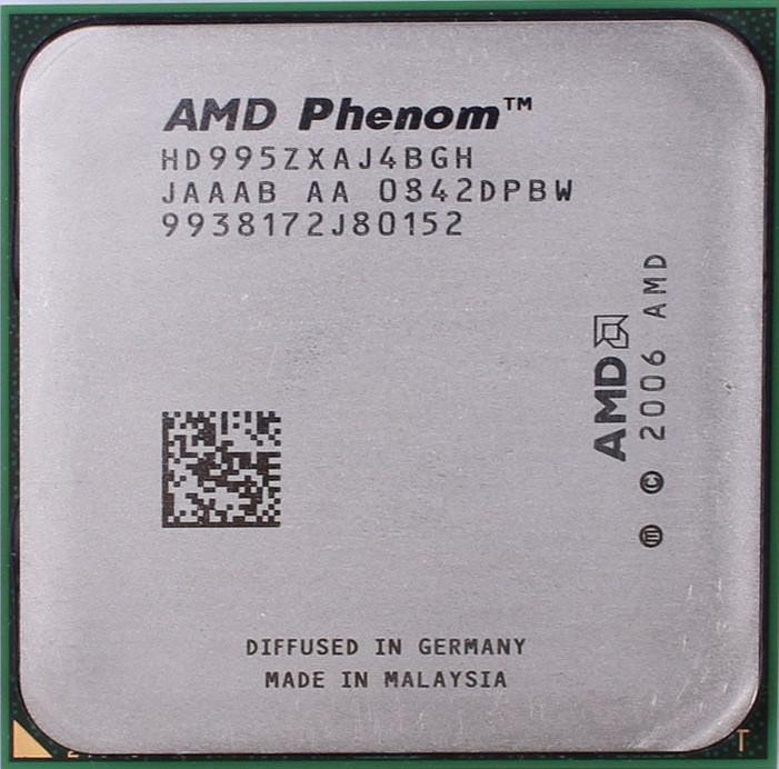 Процессор AMD Phenom X4 9950 2.60GHz/2M/2000 (HD995ZXAJ4BGH) sAM2+, tray