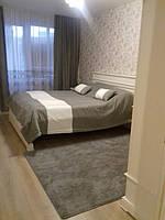 Штора с тюлью и покрывалом в спальню