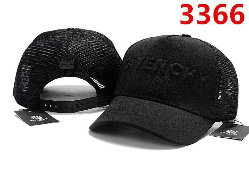 Бейсболка кепка Живанши мужская/женская черная (реплика) Сap Givenchy Black