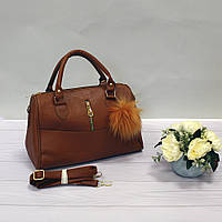 Женская сумочка горчичного цвета
