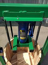 Пресс для сока 50л с домкратом, давление 10 тон, гидравлический, фото 2