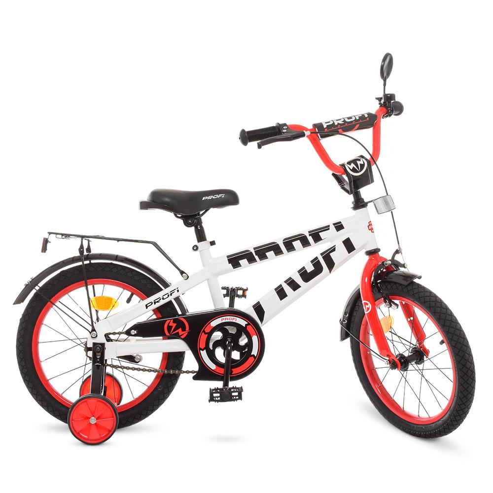 Велосипед детский PROF1 16д. T16172 Белый
