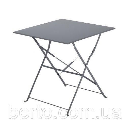 Раскладной стол для балкона или сада 60х60 см. квадратный