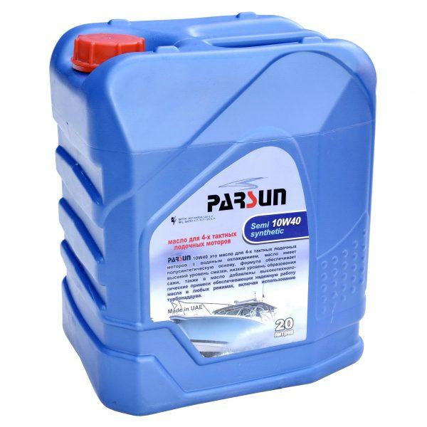 Масло для лодочных моторов Parsun 4-х тактное 10W40 полусинтетика 20 литров