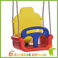Качели детские 3 в 1, колыбельные для малишей на игровую площадку, фото 1