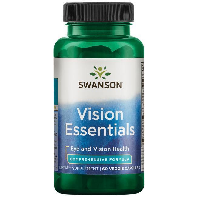 Swanson Condition Specific Formulas Vision Essentials Состав для здорового зрения 60 капс