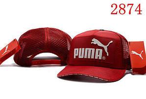 Бейсболка кепка Пума мужская/женская красная (реплика) Сap Puma Red