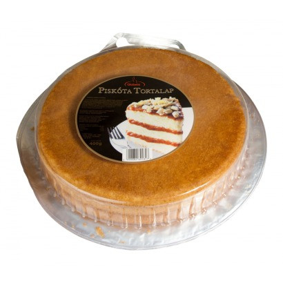 Торт Бисквит готовый GLOBETTI TORTALAP 400 g из Венгрии