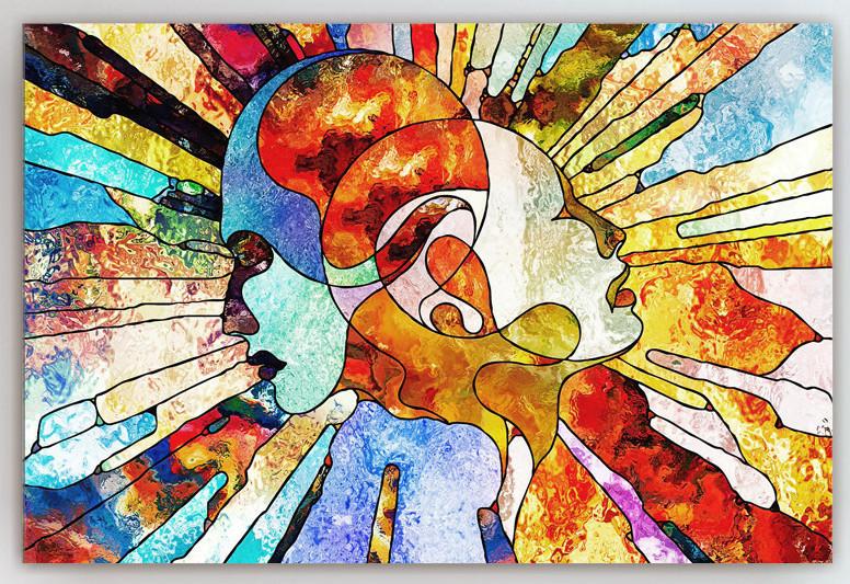 Картина абстракция 40х60
