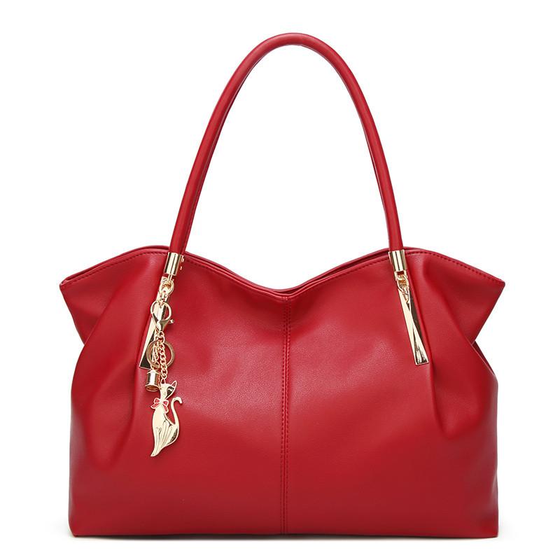 Женская Сумка Тоут из Искусственной Кожи (L-16275) Красная