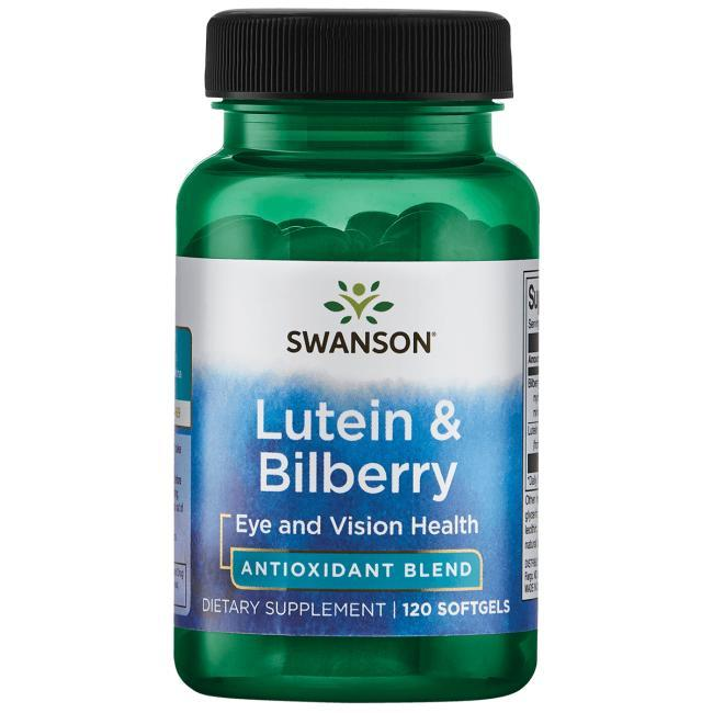 Чорниці екстракт стандартизований (25% антоціанів) (20 мг) + лютеїн (6 мг) 120 РК