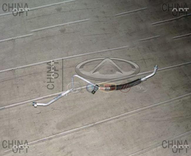 Трубка кондиционера, Chery Kimo [S12,1.3,AT], S12-8108010, Original parts