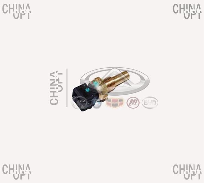Датчик температуры охлаждающей жидкости, 2 контакта, Chery Beat [S18D,1.3], S21-3617011FA, Aftermarket