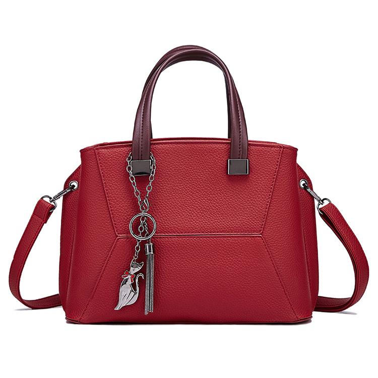Женская Сумка Стильная Handheld L-16484 Красная