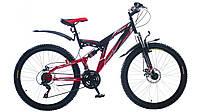 """Велосипед 26"""" Formula RODEO AM2 14G DD St чёрно-красный 2015"""