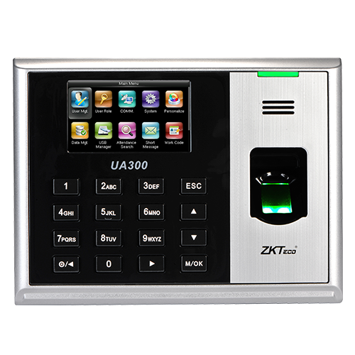 Биометрический терминал учета рабочего времени ZKTeco UA 300