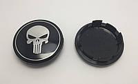 Заглушки колпачки литых дисков Skull Череп 65мм