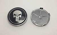 Заглушки колпачки литых дисков Skull Череп 68мм