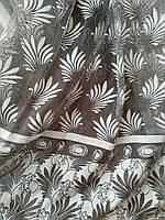 Нежная тюль с молочной вышивкой  п-во Турция  батист, фото 1