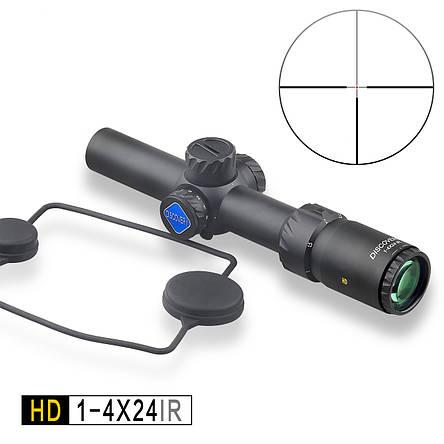 Приціл DISCOVERY OPTICS HD 1-4x24 IR, фото 2