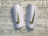 Щитки футбольные Nike Mercurial Lite Guard White, фото 1
