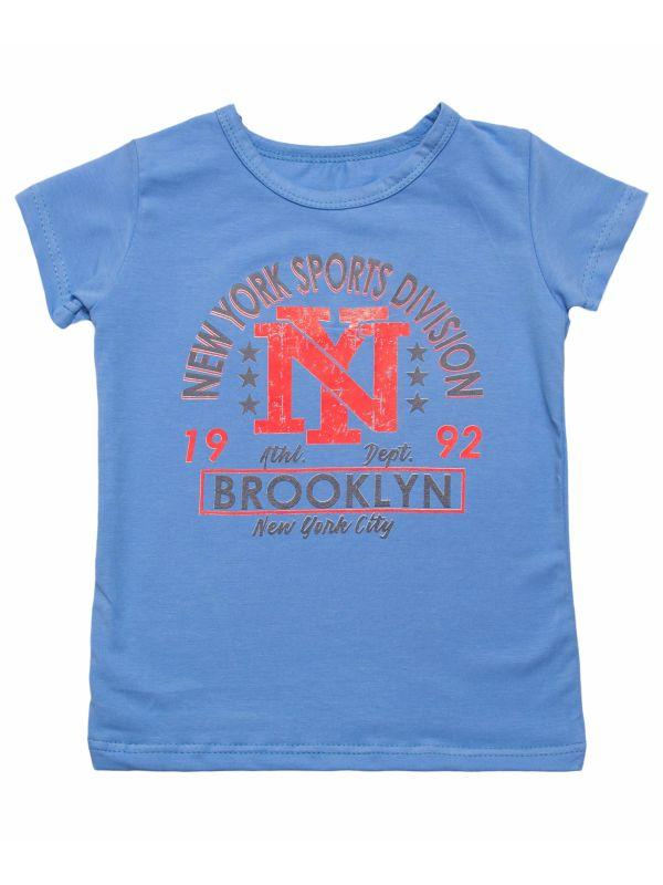 Летняя футболка для мальчика с принтом