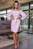 Платье 12-1142 - персик: S M L XL, фото 1
