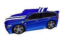 Кровать машина Премиум BMW синий, фото 1
