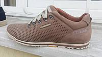 Летняя кожаная мужская обувь